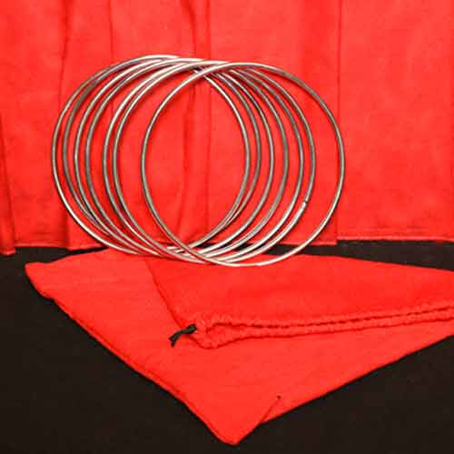 "8"" Linking Rings (7 Rings) - Mr. Magic"