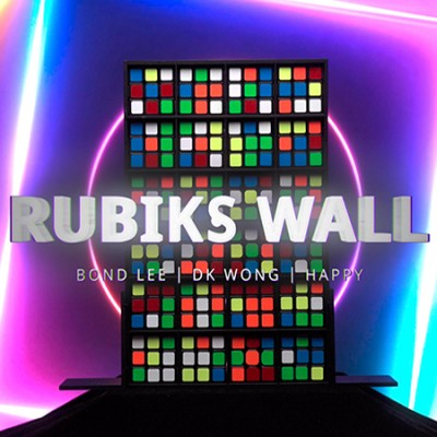 Rubiks Wall Complete Set by Bond Lee