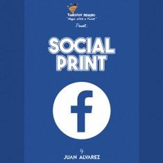 Social Print by Juan Alvarez and Twister Magic
