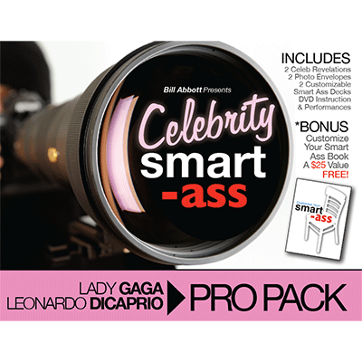 Celebrity Smart Ass (Lady Gaga & Leonardo DiCaprio) by Bill Abbott