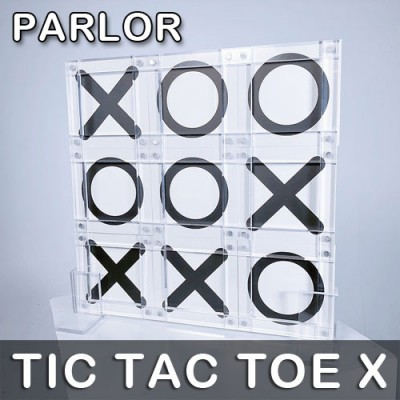 Tic Tac Toe X (Parlour) - Bond Lee