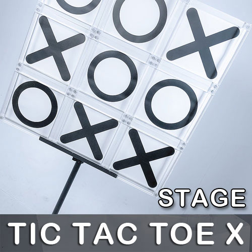 Tic Tac Toe X (Stage) by Bond Lee