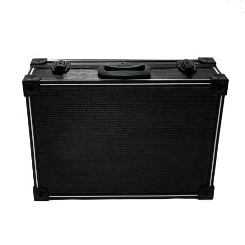 Black PVC and Aluminium Close Up Case