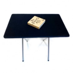 PropDog Folding Close Up Table with Metal Legs