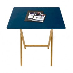 PropDog Folding Close Up Table with Wooden Legs