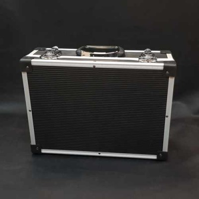 Black PVC and Aluminium Close Up Case - Small
