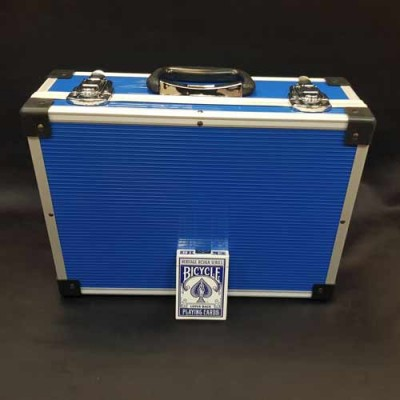 BluePVC and Aluminium Close Up Case - Small