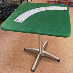 PropDog Dual Height Close Up Table - Bistro Style