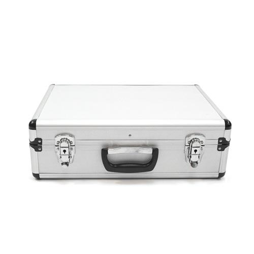Silver  Aluminium Close Up Case