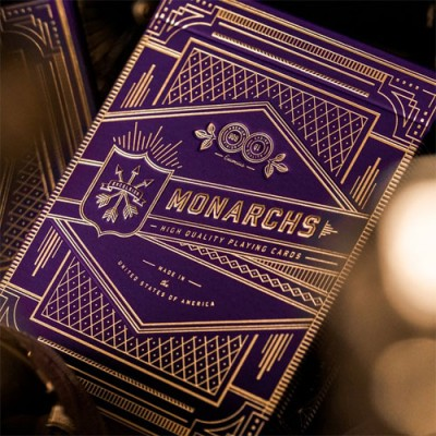 Monarchs Playing Cards - Purple