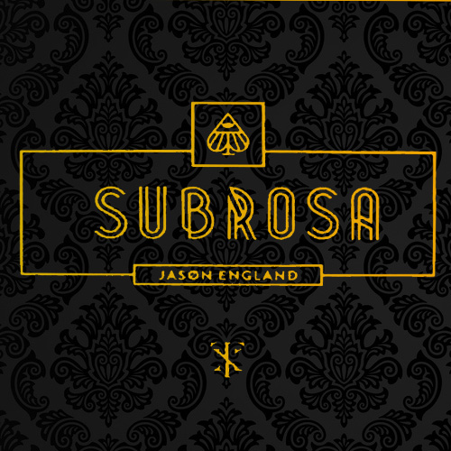 SUB ROSA BY JASON ENGLAND WITH 2 SPECIAL BICYCLE CARD DECKS GIMMICK MAGIC TRICKS