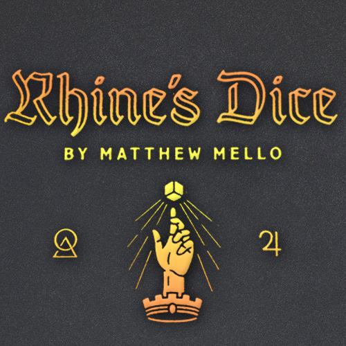 Rhine's Dice by Matthew Mellow