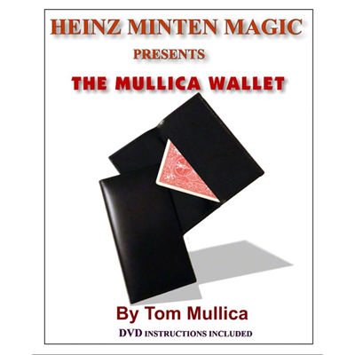 Mullica Wallet (with DVD) by Heinz Minten & Tom Mullica