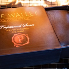 The Professional's Fire Wallet by Murphy's Magic
