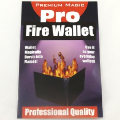 Fire Wallet by Premium Magic