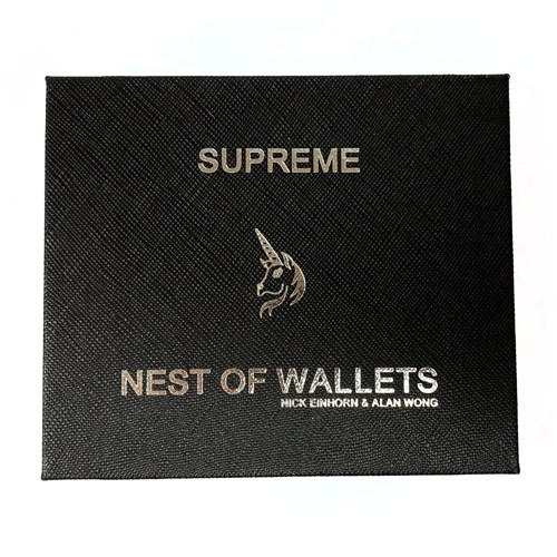 Supreme Nest of Wallets by Nick Einhorn and Alan Wong
